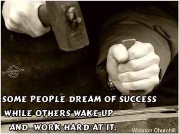 Dream of Success Quote